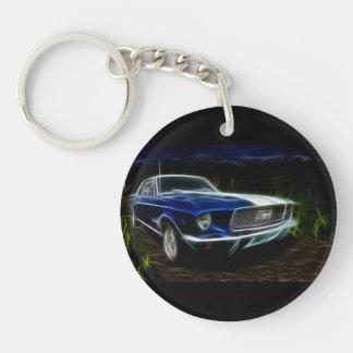 Car lighting keychain