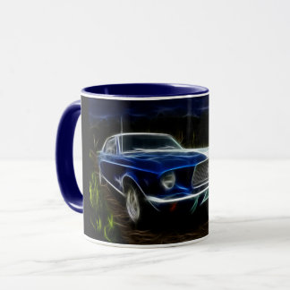 Car lighting mug