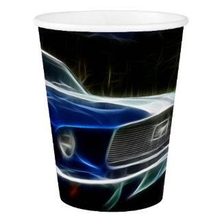 Car lighting paper cup