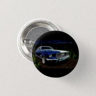 Car lightning 1 inch round button