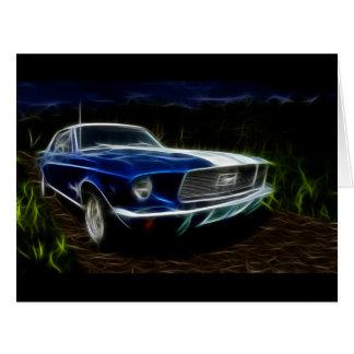 Car lightning card