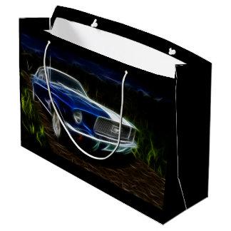 Car lightning large gift bag