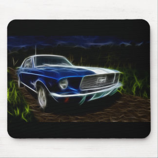 Car lightning mouse pad
