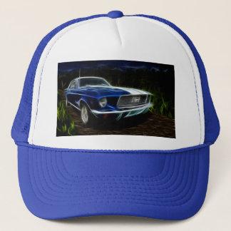 Car lightning trucker hat