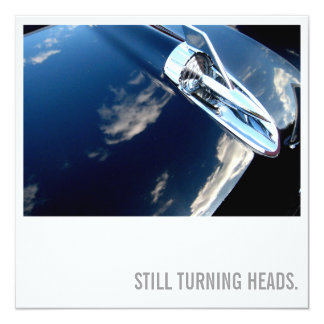 Car Lover 75th Birthday - Turning Heads Card