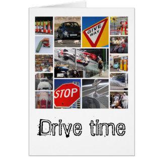 Car-lover's card