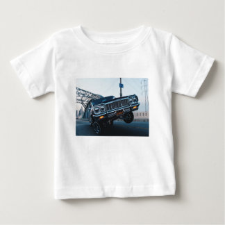 Car Low Rider Vintage Oldschool Automotive Driving Baby T-Shirt