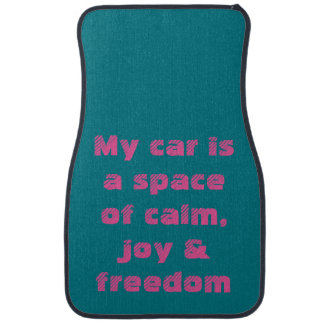 Car Mat: Mindful Affirmations Car Liners