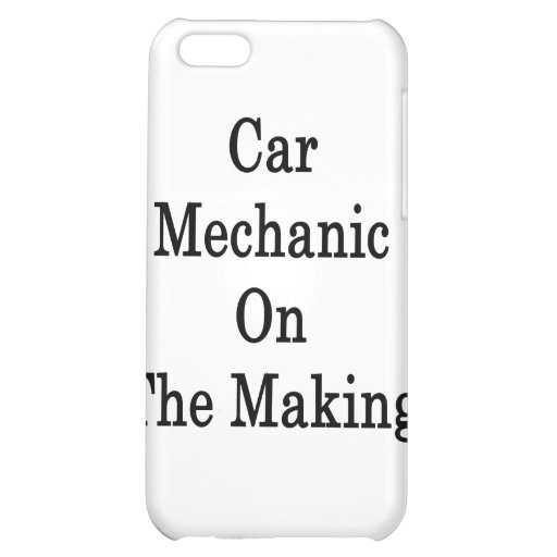 Car Mechanic On The Making iPhone 5C Cases