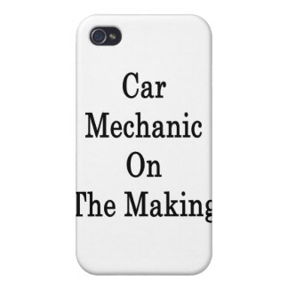 Car Mechanic On The Making iPhone 4 Covers
