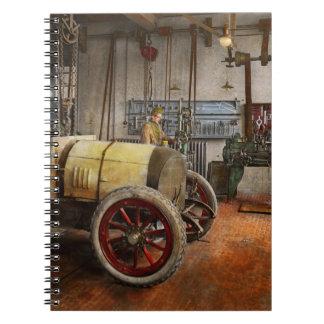 Car Mechanic - The overhaul 1915 Spiral Note Books