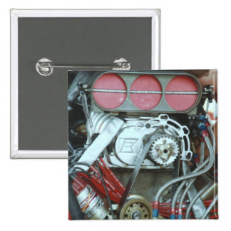 Car Motor From The Cajun National's 2 Inch Square Button