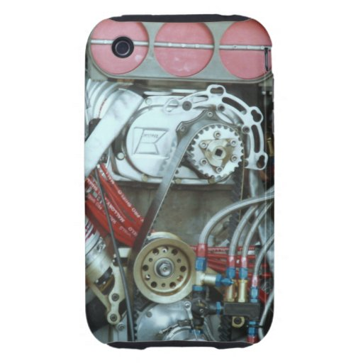 Car Motor From The Cajun National's Tough iPhone 3 Case