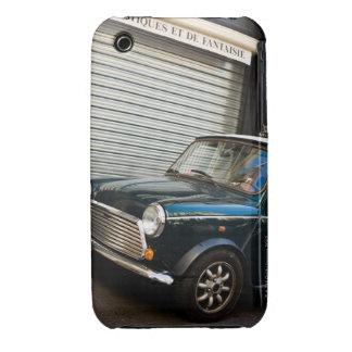 Car on street near garage door Case-Mate iPhone 3 cases