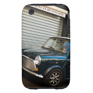 Car on street near garage door iPhone 3 tough cover