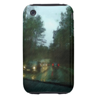 Car on the road tough iPhone 3 cases