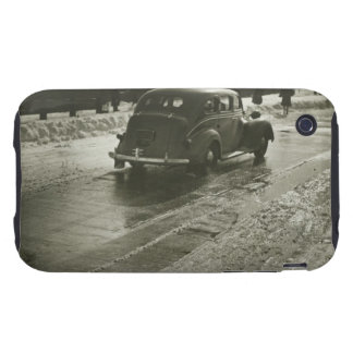 Car on the Road Tough iPhone 3 Case
