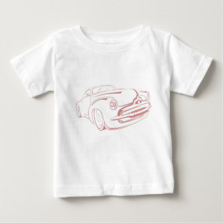 Car Outline Baby T-Shirt