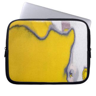 Car Paint Peeling Art Laptop Sleeve