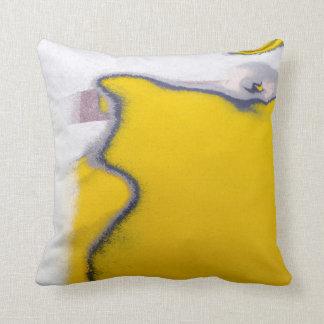 Car Paint Peeling Art Throw Pillow