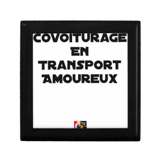 CAR-POOLING IN AMOROUS TRANSPORT - Word games Gift Box