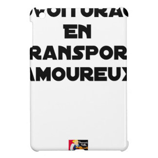 CAR-POOLING IN AMOROUS TRANSPORT - Word games iPad Mini Covers