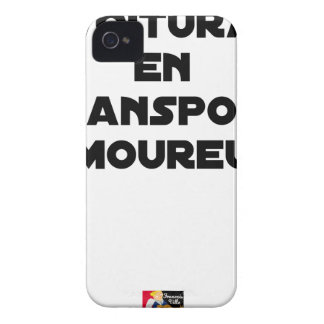 CAR-POOLING IN AMOROUS TRANSPORT - Word games iPhone 4 Case-Mate Case