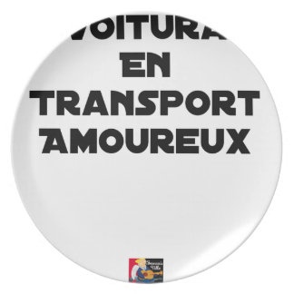 CAR-POOLING IN AMOROUS TRANSPORT - Word games Plate