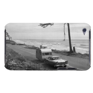 Car Pulling Trailer Barely There iPod Covers
