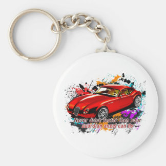 Car Race Key Chains