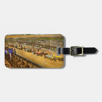 Car Race - Life in the fast lane 1925 Luggage Tag