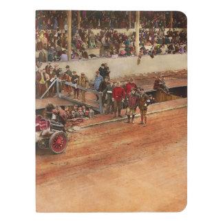 Car Race - Racing to get gas 1908 Extra Large Moleskine Notebook
