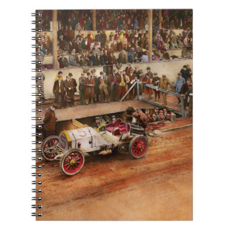 Car Race - Racing to get gas 1908 Notebook