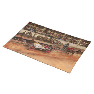 Car Race - Racing to get gas 1908 Placemat