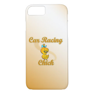 Car Racing Chick iPhone 8/7 Case