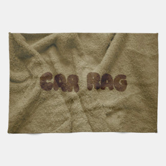Car Rag Kitchen Towel
