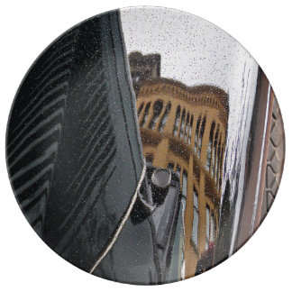 Car reflection plate
