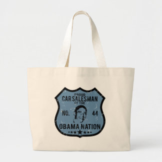 Car Salesman Obama Nation Tote Bag