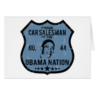 Car Salesman Obama Nation Cards