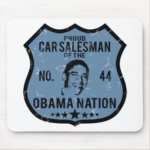 Car Salesman Obama Nation Mouse Pads