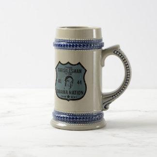 Car Salesman Obama Nation Coffee Mugs