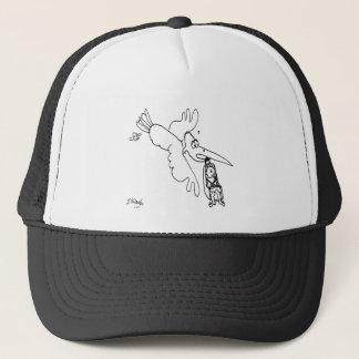 Car Seat Cartoon 3434 Trucker Hat
