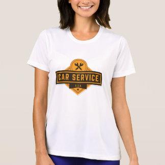 Car Service. Vintage Americana. T-Shirt