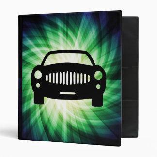 Car Silhouette; Cool Binder