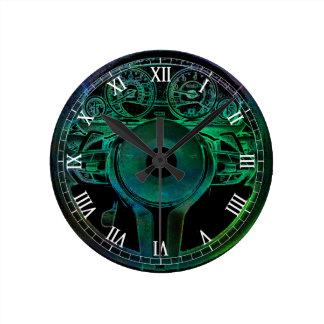 Car Themed Auto Design Round Clock