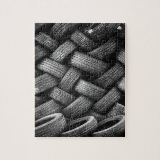 Car tires pattern jigsaw puzzle