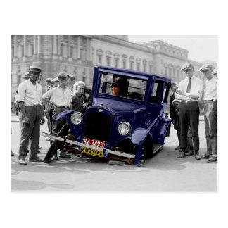 Car Troubles Postcard