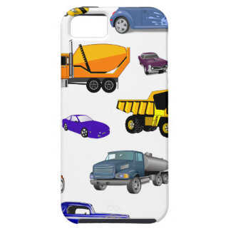 car truck firetruck bulldozer bus race cars more iPhone 5 covers