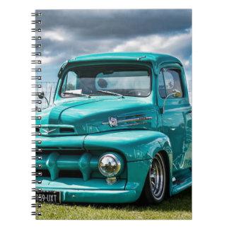Car Vehicle Auto Automobile Transportation Notebook
