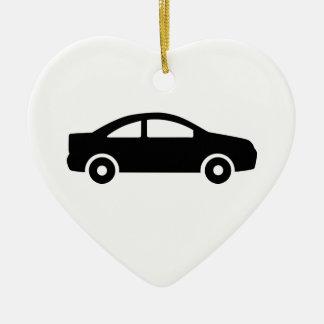 Car vehicle ceramic ornament